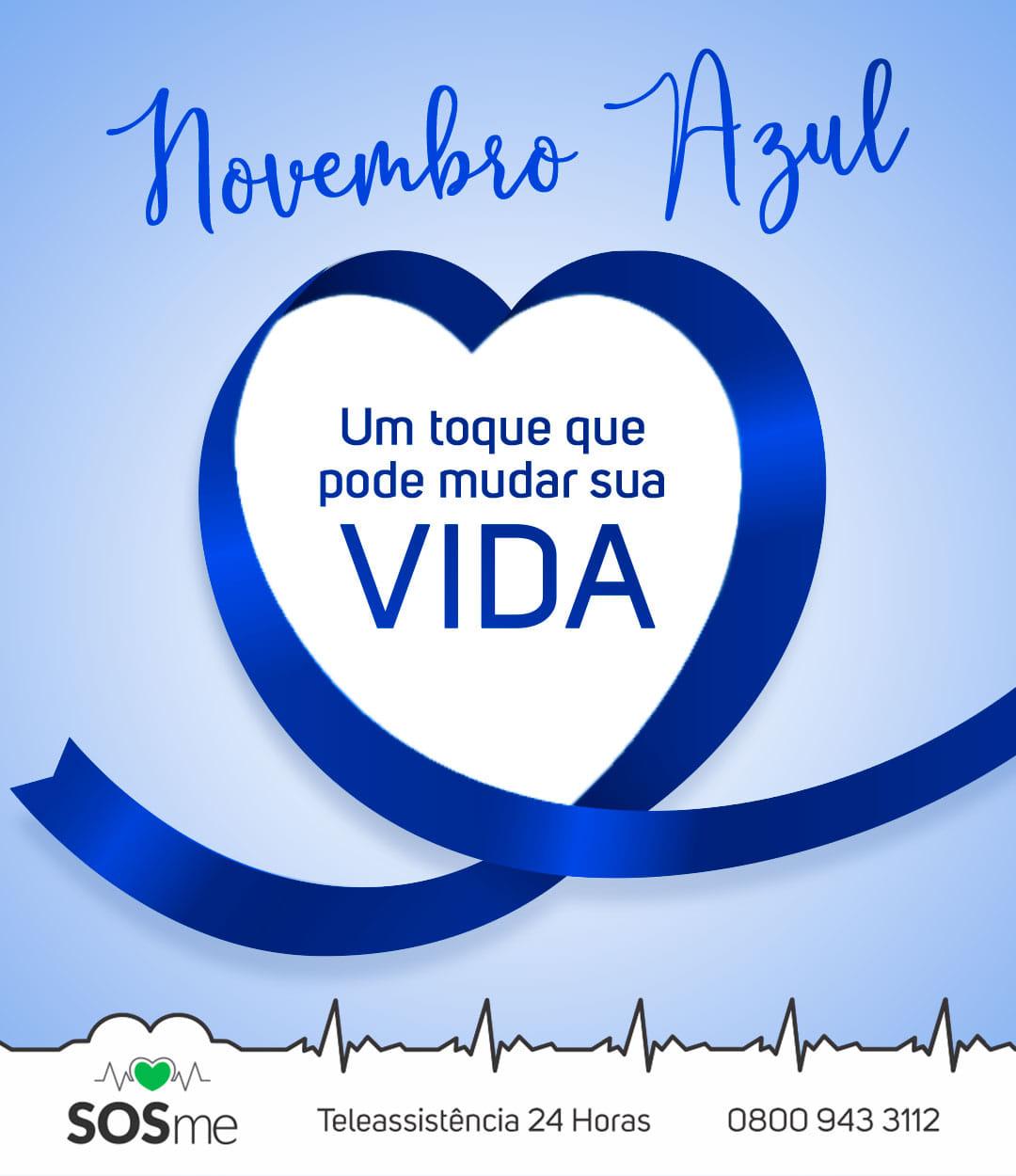 novembro azul prevenção masculina