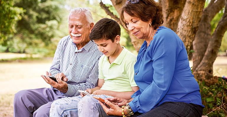 Terceira idade e tecnologia