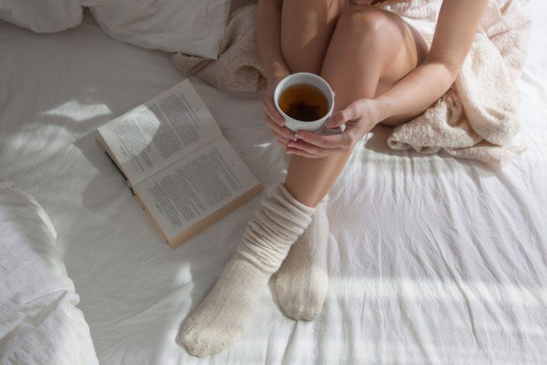 dormir sempre com meias